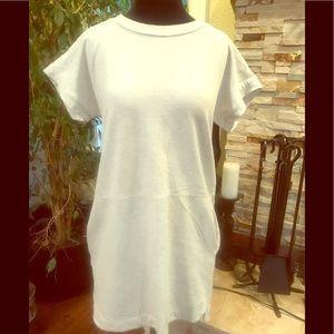 Madewell Tee style dress